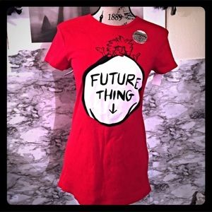New!Universal studios Thing One Soft Maternity Tee